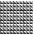Pyramid geometric seamless pattern vector image