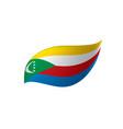 comoros flag vector image