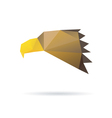 Eagle head abstract isolated vector image vector image