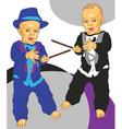 little gentleman vector image vector image