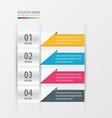 Presentation design banner style vector image