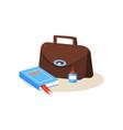 teacher workplace education design vector image