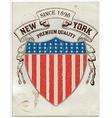 vintage american label