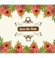 Wedding cute card vector image vector image