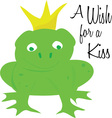 Wish For Kiss vector image