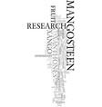 xango research text word cloud concept vector image vector image