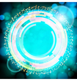 Abstract digital background with a round space for vector image
