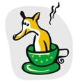 Dog Bath Cartoon vector image
