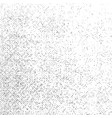 grunge texture on white background abstract dot vector image