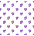 Spotlight pattern cartoon style vector image vector image
