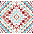 beautiful tribal seamless pattern background vector image vector image