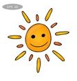 Fun sun vector image vector image