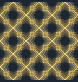 geometric arabic seamless pattern islamic texture vector image vector image