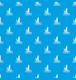 man on windsurf pattern seamless blue vector image vector image