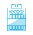 Pencil colors packaging vector image