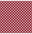 Seamless pattern of cross vector image vector image