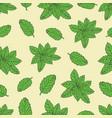 tea pattern-04 vector image vector image