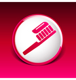 Toothbrush With Paste brush icon isolated human vector image