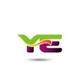 YE Logo vector image vector image