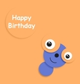 Card to Birthday vector image