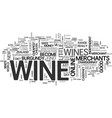 a little wine goes a long way text word cloud vector image vector image