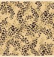 abstrct animal print seamless baskground vector image