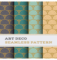 Art Deco seamless pattern 09 vector image vector image
