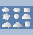 cloud word vector image