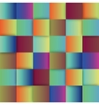 Colorful sqaures background vector image vector image
