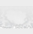 concentric squares halftone background vector image vector image