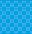 full screen arrows pattern seamless blue vector image