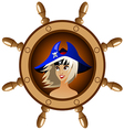 icon pirate vector image