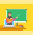 online distance education computer flat concept