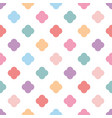 pastel seamless pattern or tile fashion background vector image vector image