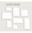 Realistic picture frames Perfect for your vector image