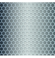 Cell metal background vector image