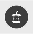 apple icon simple vector image