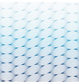 abstract blue wave art line pattern background vector image
