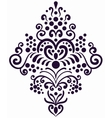Decorative border element Old style wallpaper vector image vector image