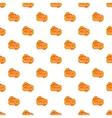 Movie ticket pattern cartoon style vector image vector image