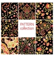 paisley indian or turkish persian seamless pattern vector image vector image