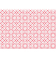 pattern made of vintage valentines vector image vector image
