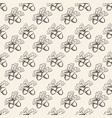 seamless pattern with acorns background vector image