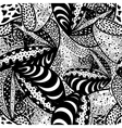 Seamless zentangle design vector image vector image