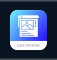wallpaper poster brochure mobile app icon design vector image