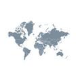 World map isolated