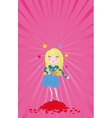 Girl star of love vector image vector image