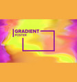 gradient fluid background digital concept vector image