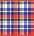 modern check plaid seamless pattern vector image vector image