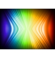 Rainbow Colors Abstract Horizontal Lines card vector image vector image